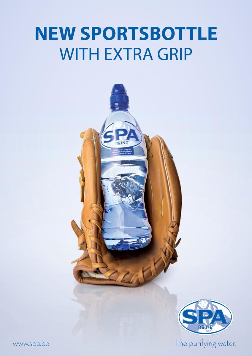 Spa Reine Outdoor Ad -  Baseball