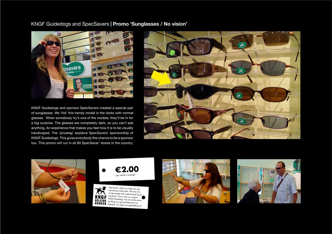 KNGF Guidedogs Ambient Ad -  Sunglasses