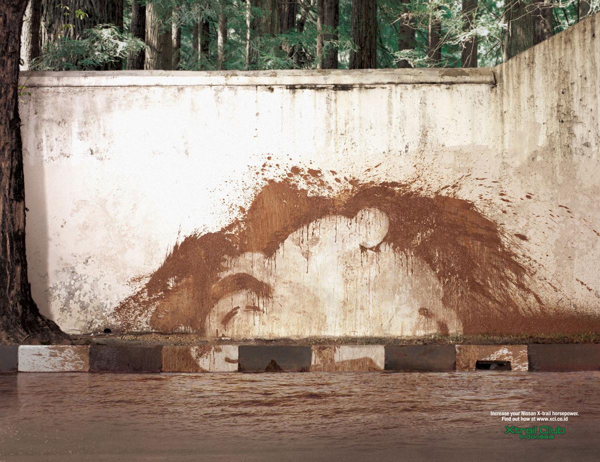 Powerful Mud Splash, Speeding Bike