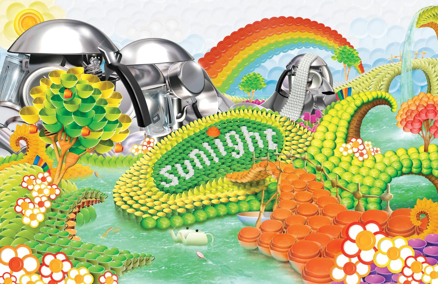 Sunlight Print Ad -  World