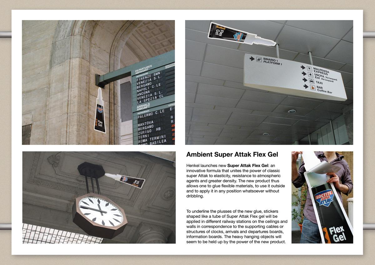 Super Attak Ambient Ad -  Railway Stations