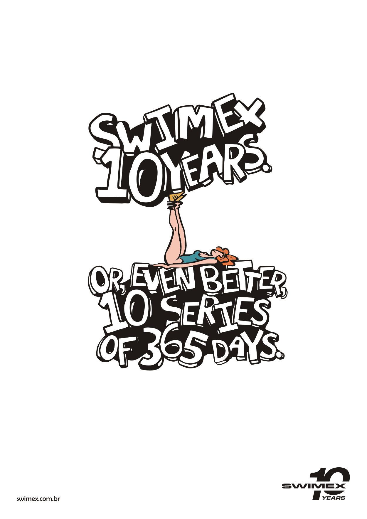 Swimex Print Ad -  Series