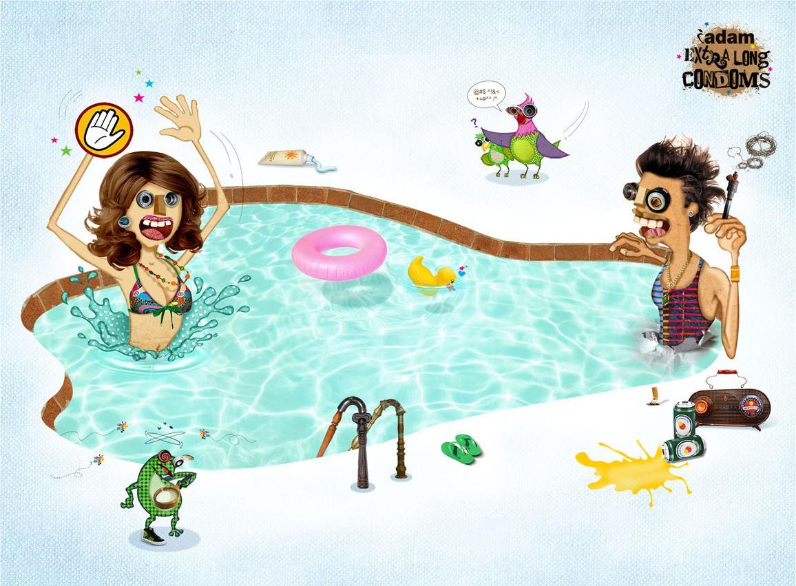 Dr Morepen Print Ad -  Swimming pool