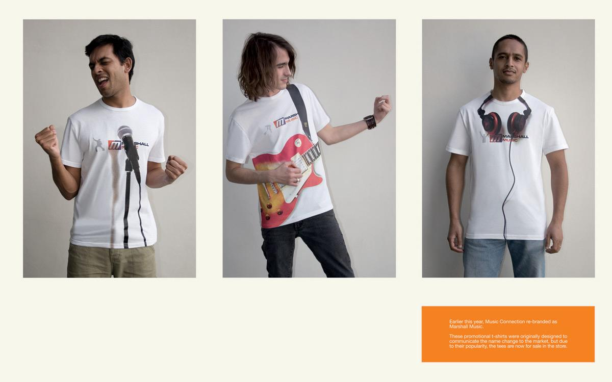 Experiential T-shirts