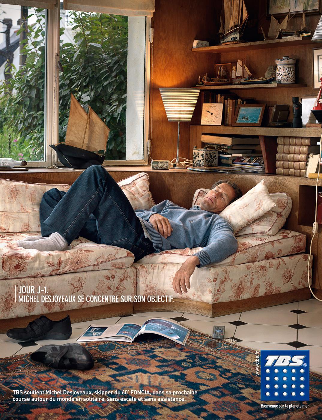 TBS Print Ad -  Objective