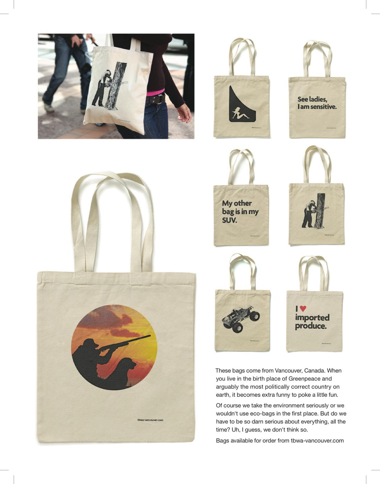 TBWA Direct Ad -  Eco bags