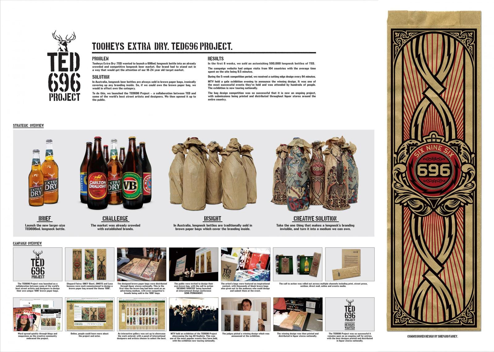 Tooheys Direct Ad -  Paper bags