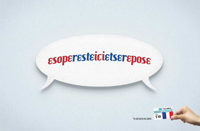 Telmex Print Ad -  France