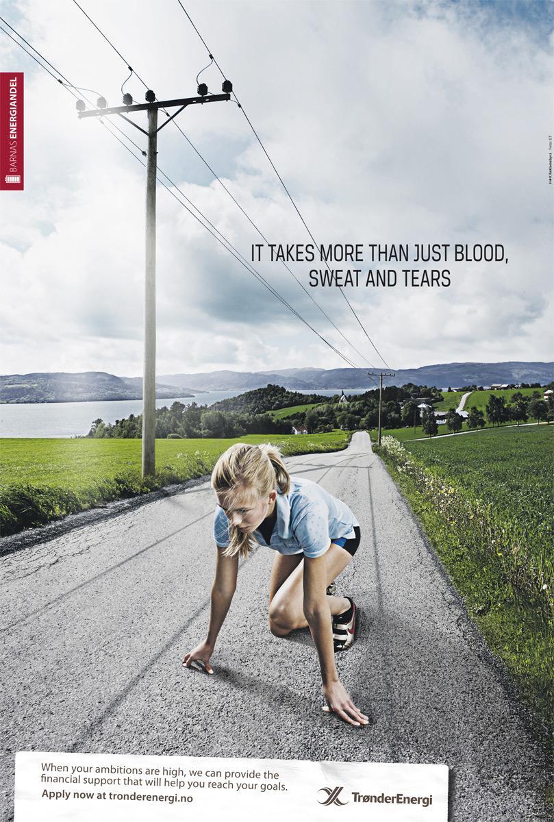 Tronderenergy Print Ad -  Runner