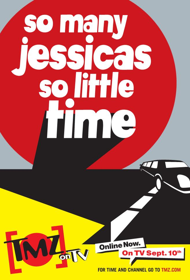 TMZ Print Ad -  Jessica