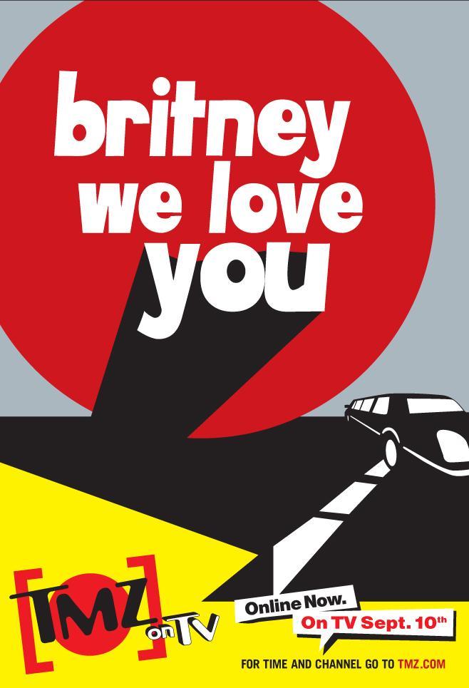 TMZ Print Ad -  Britney