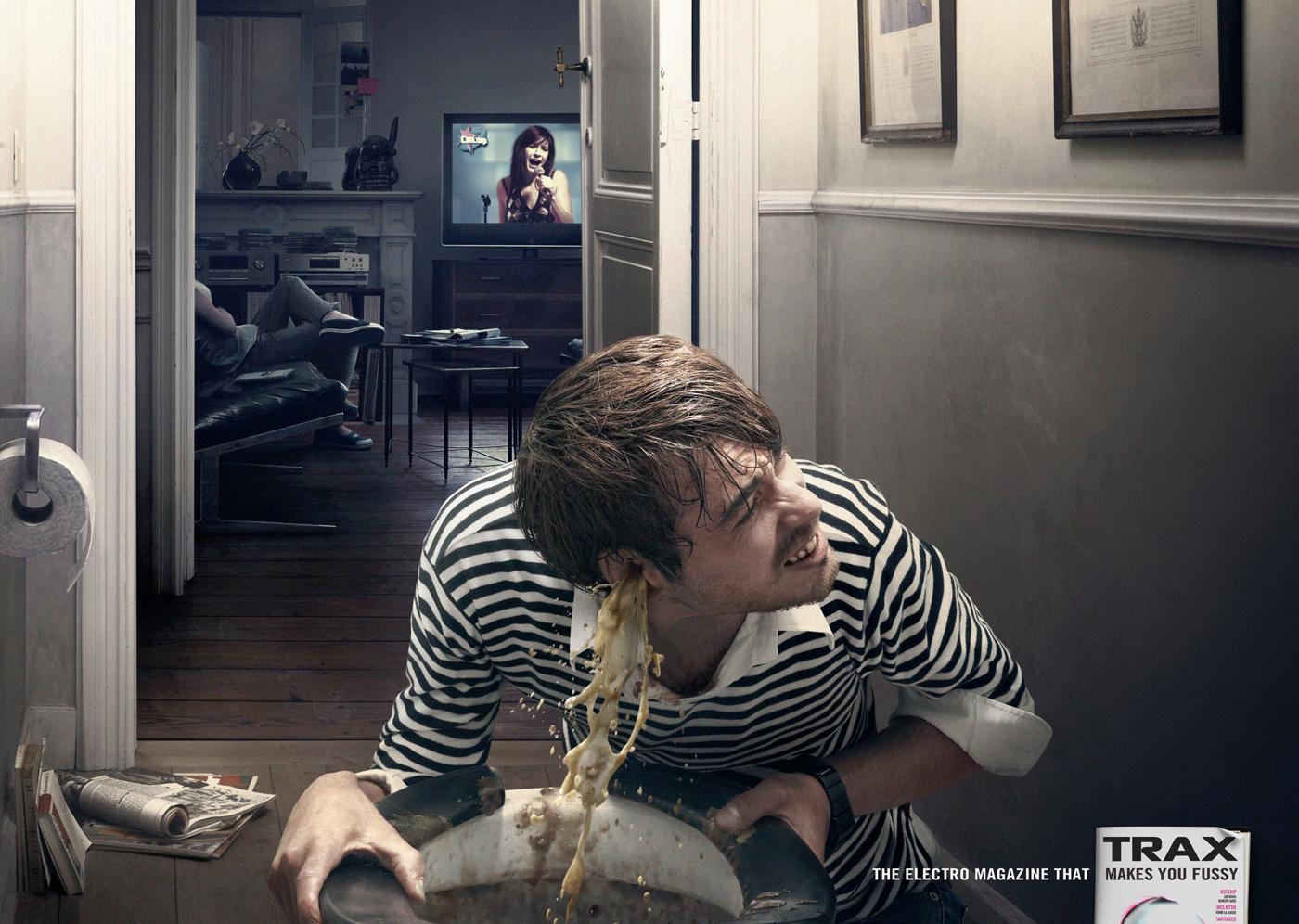 Trax Magazine Print Ad -  Reality show
