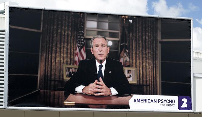 TVNZ Print Ad -  Bush