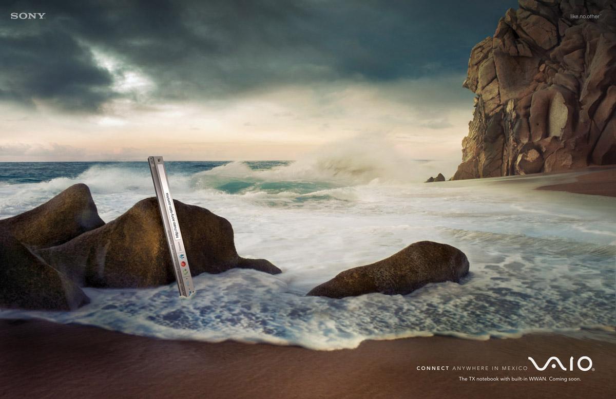 Navigation bar, beach