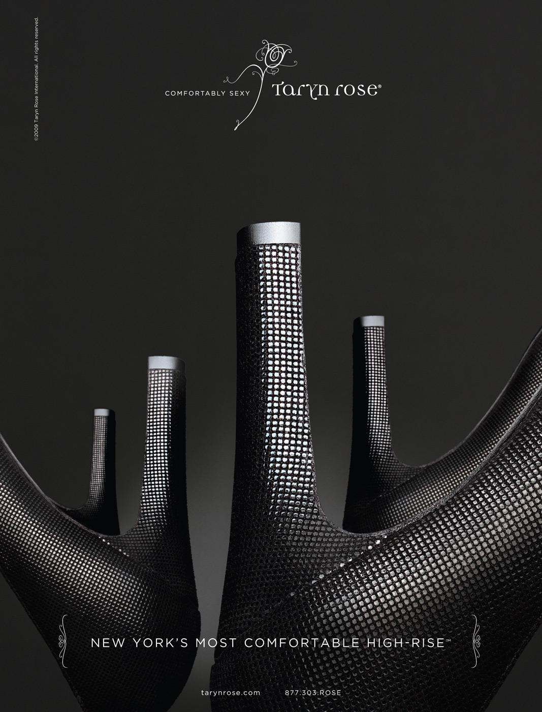 Taryn Rose Print Ad -  High rise