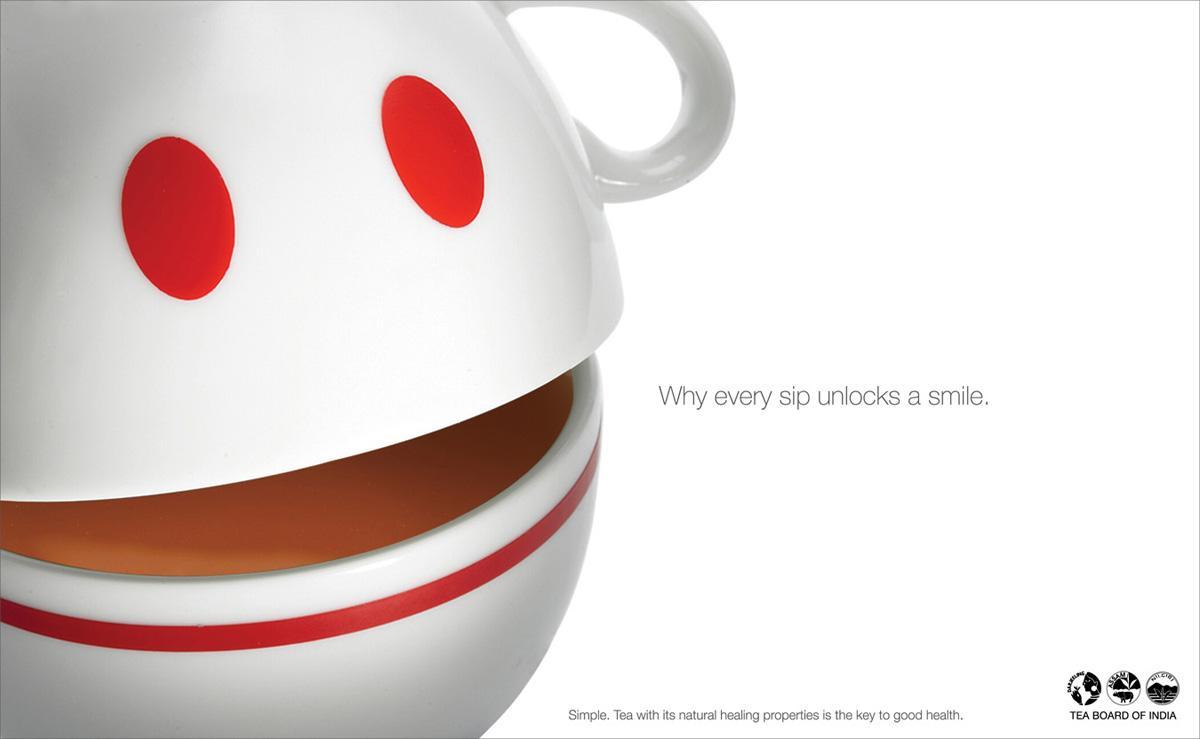 Tea Board of India Print Ad -  Smile