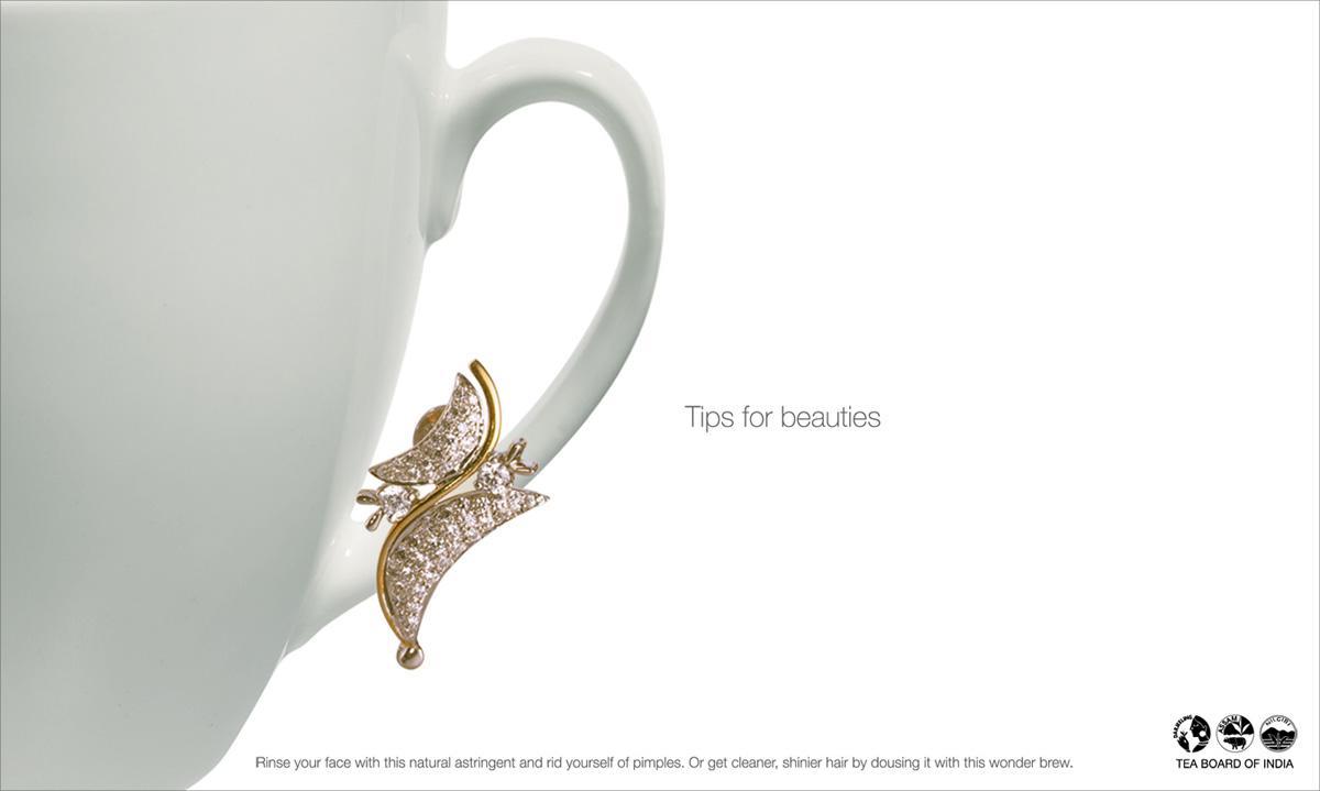 Tea Board of India Print Ad -  Tips