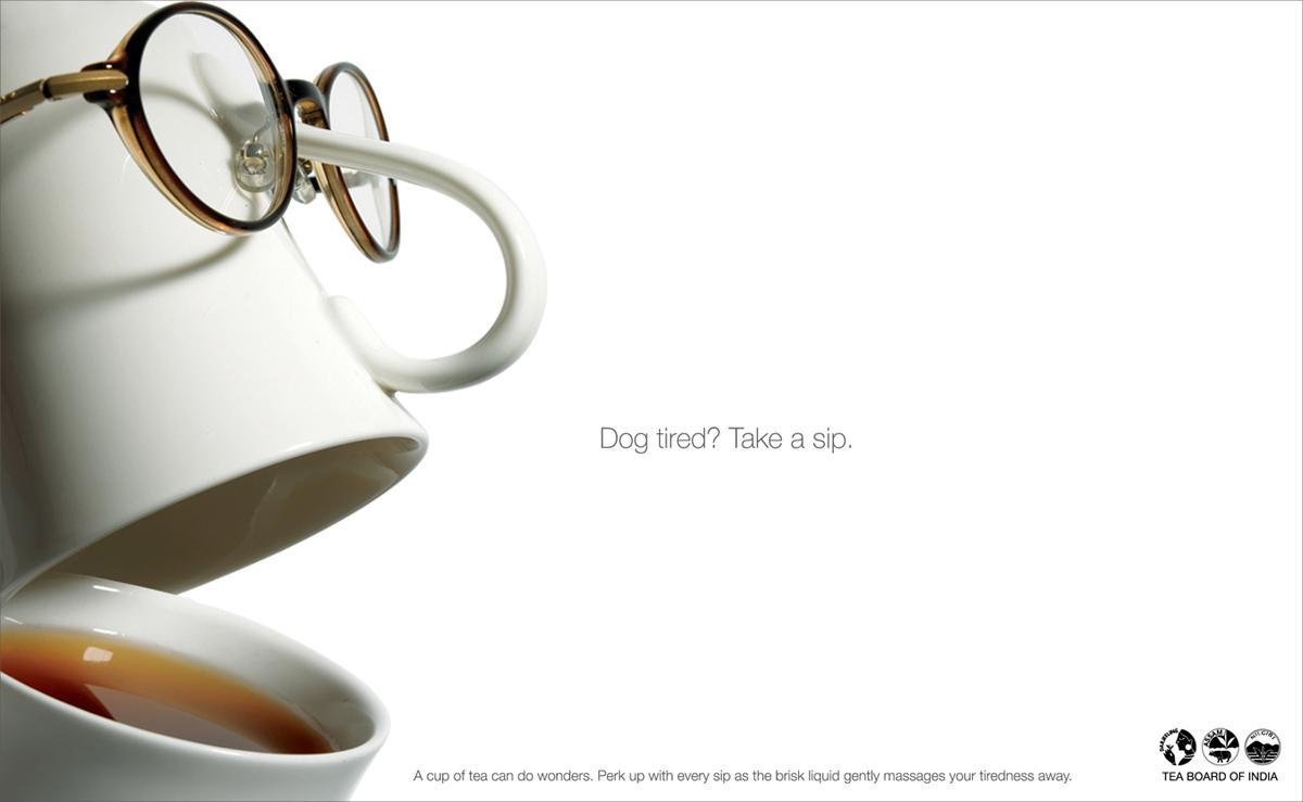 Tea Board of India Print Ad -  Tired