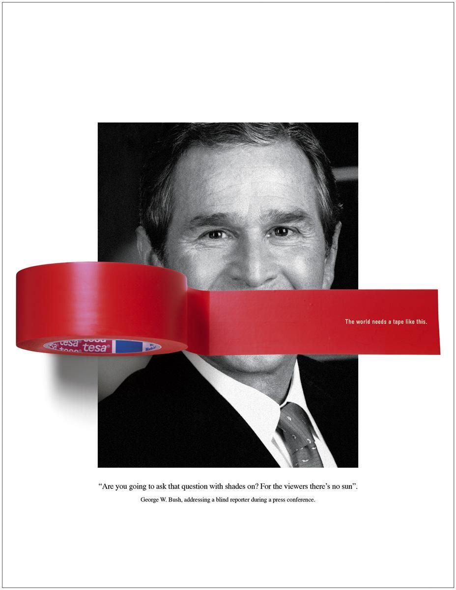 Tesa Print Ad -  Bush