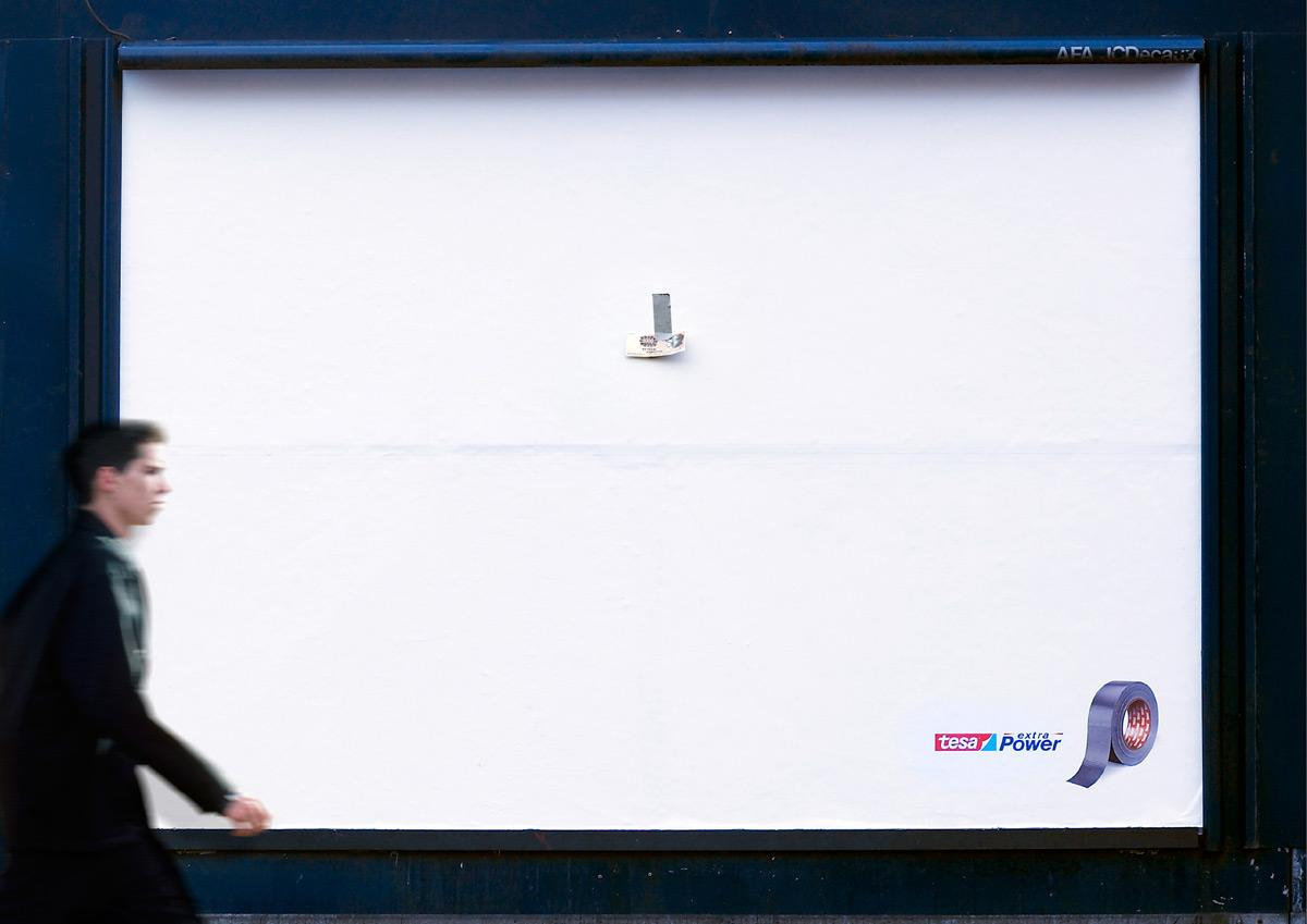 Tesa Outdoor Ad -  Money