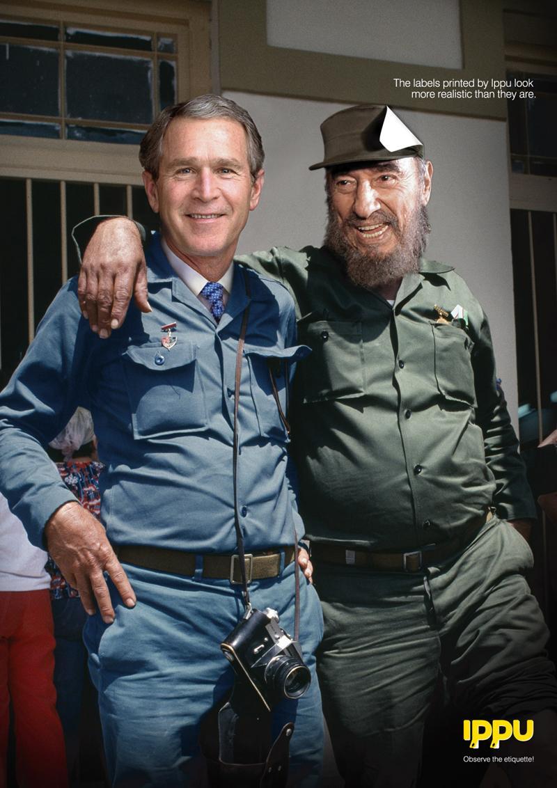 Bush and Castro