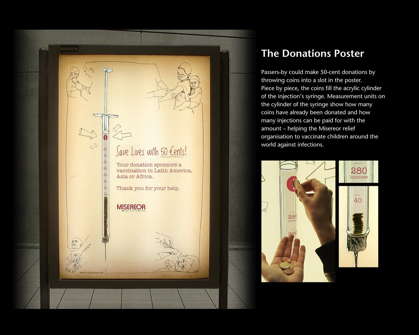 Misereor Outdoor Ad -  The Donations Poster