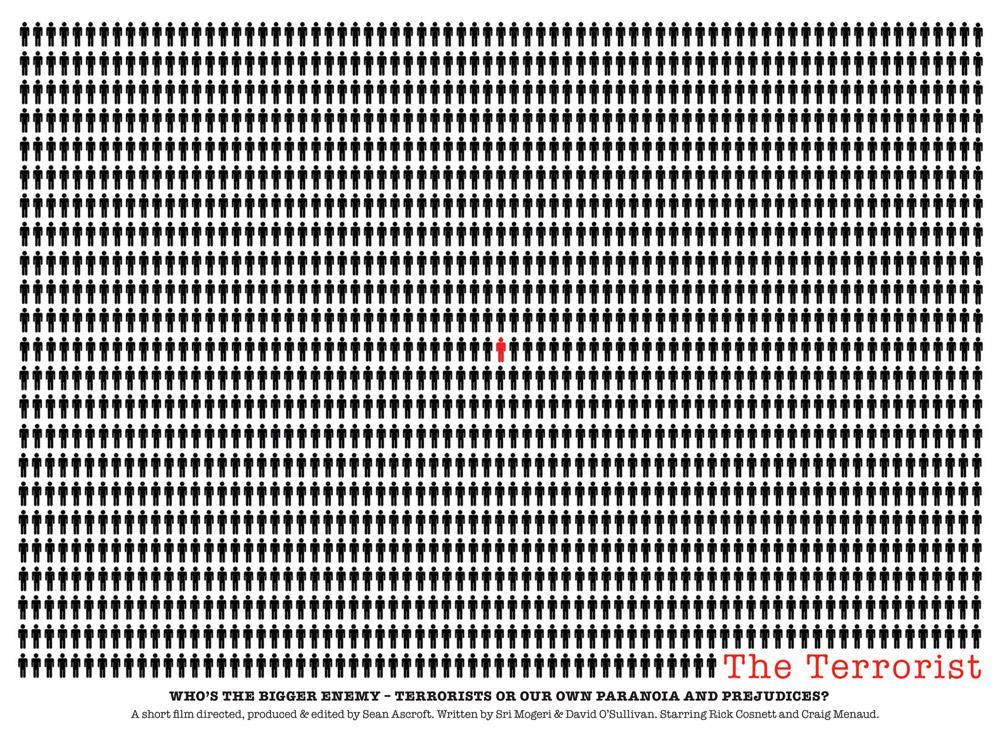 16:9 Films Print Ad - 9 Films  The Terrorist