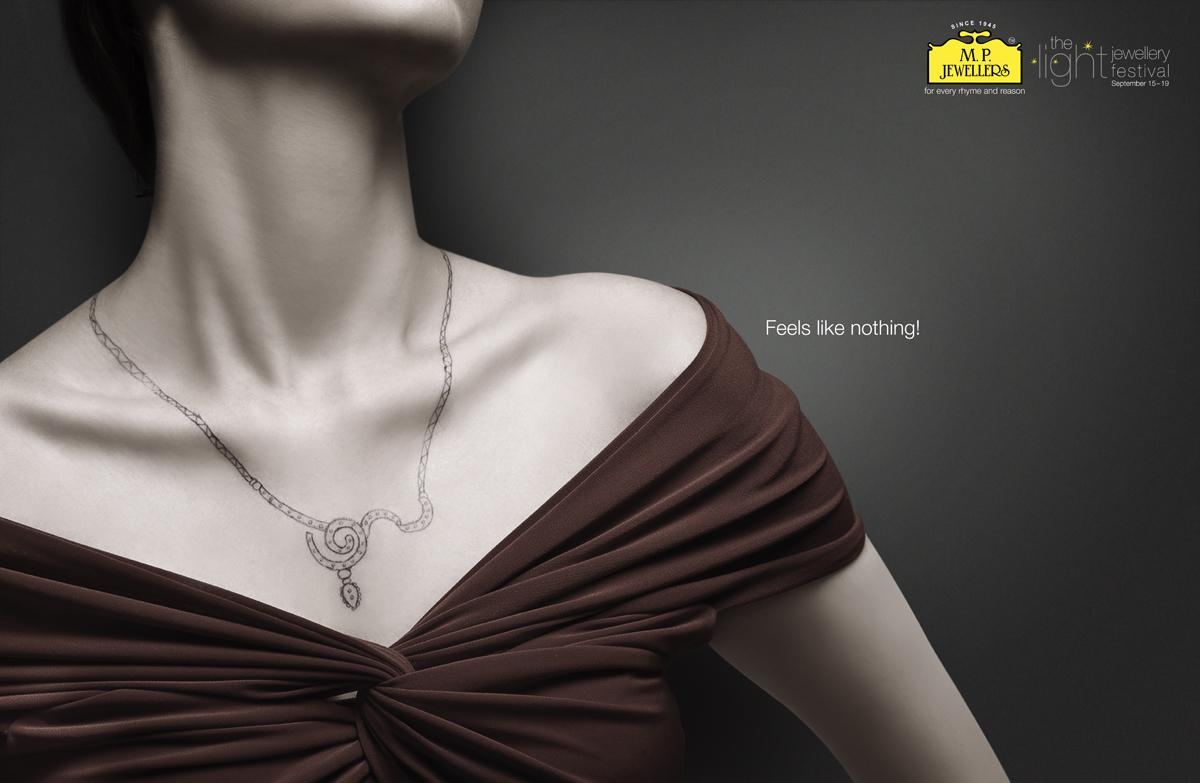 MP Jewellers Print Ad -  Neck