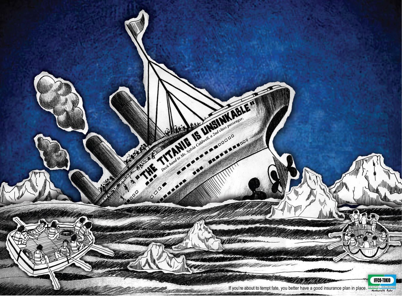Iffco Print Ad -  Titanic