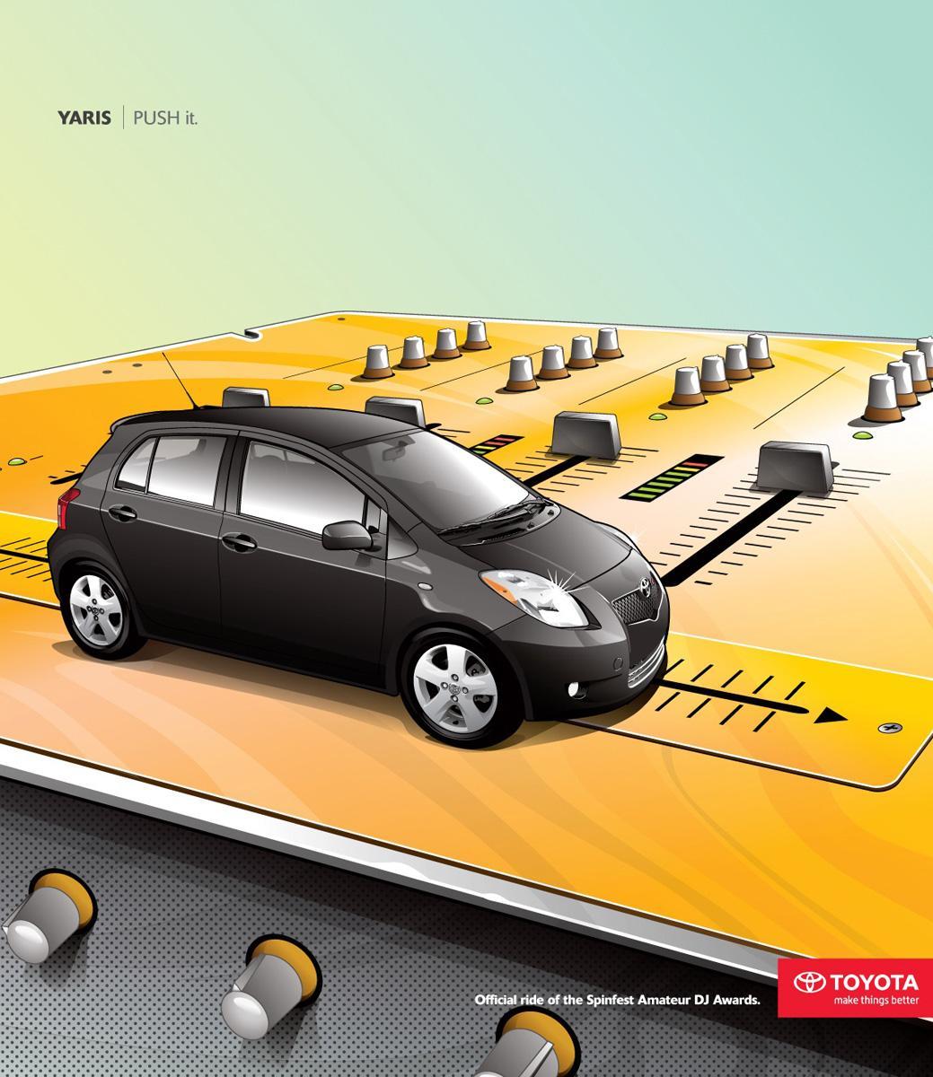 Toyota Print Ad -  Push