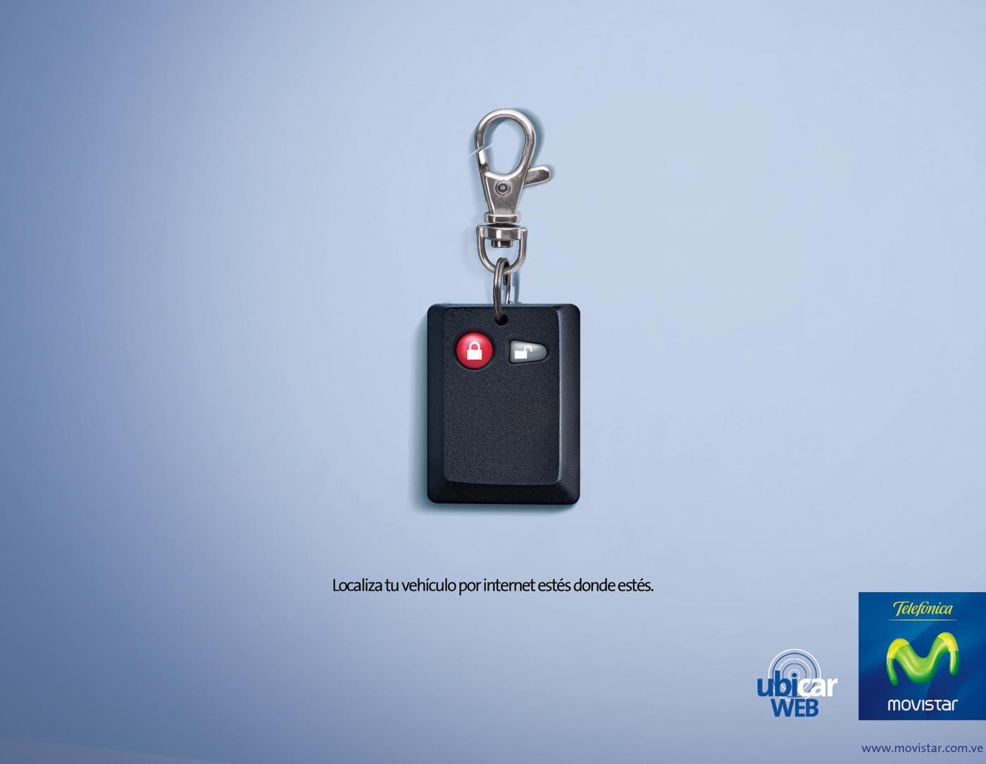 Movistar Print Ad -  Controller