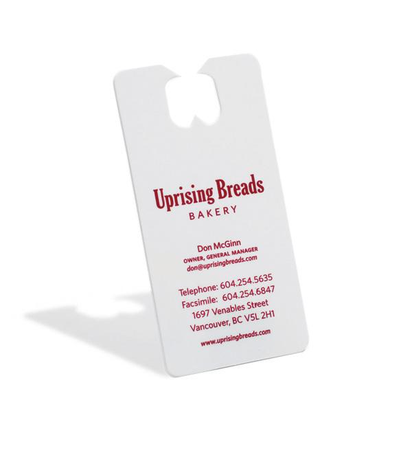 Uprising Breads Bakery Ambient Ad -  Card