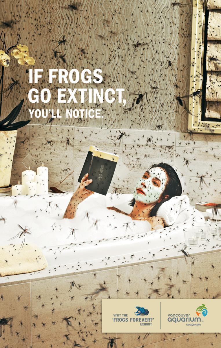 Vancouver Aquarium Print Ad -  Bath
