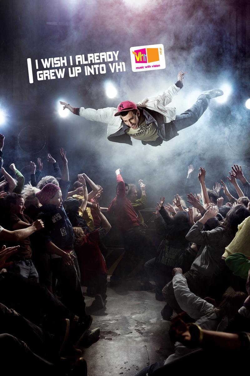 VH1 Print Ad -  Dive