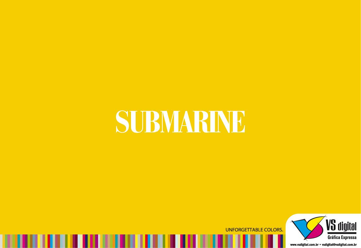 VS Digital Print Ad -  Yellow Submarine