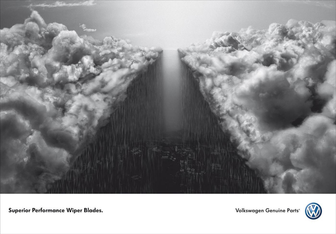 Volkswagen Print Ad -  Wiper Blades