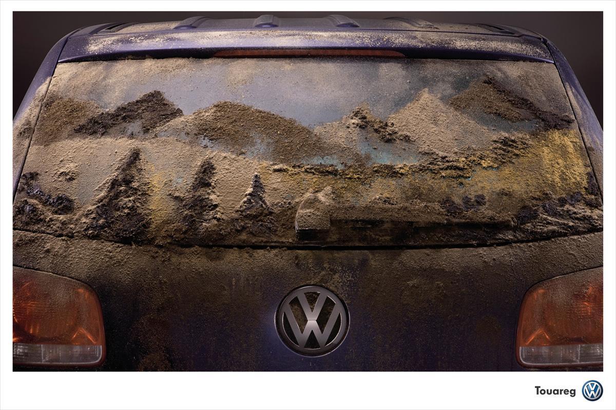 Volkswagen Print Ad -  Mud