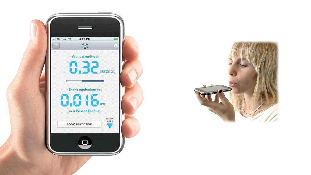 Volkswagen Digital Ad -  iphone app