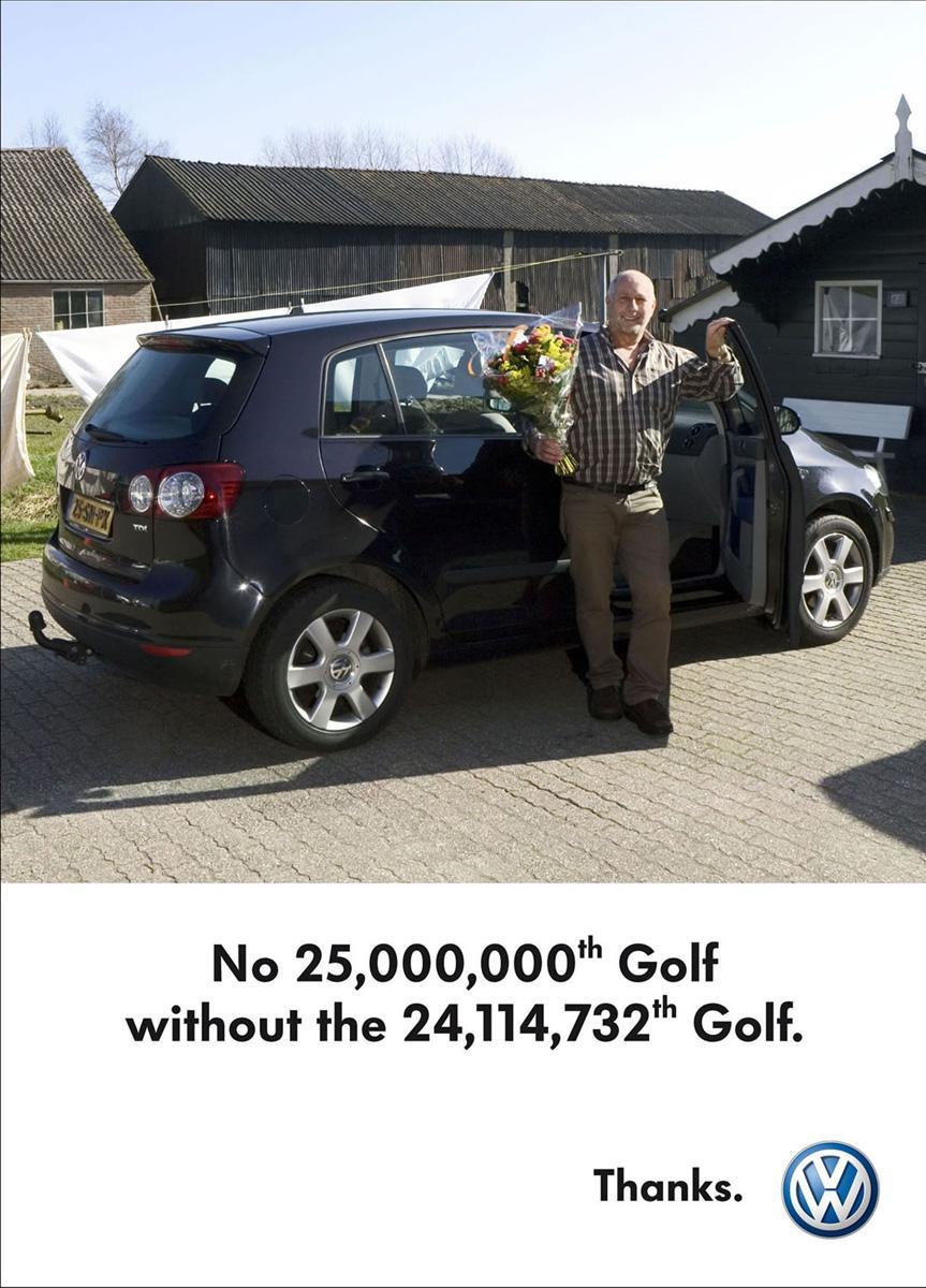 Celebration of the 25 millionth Golf, 5