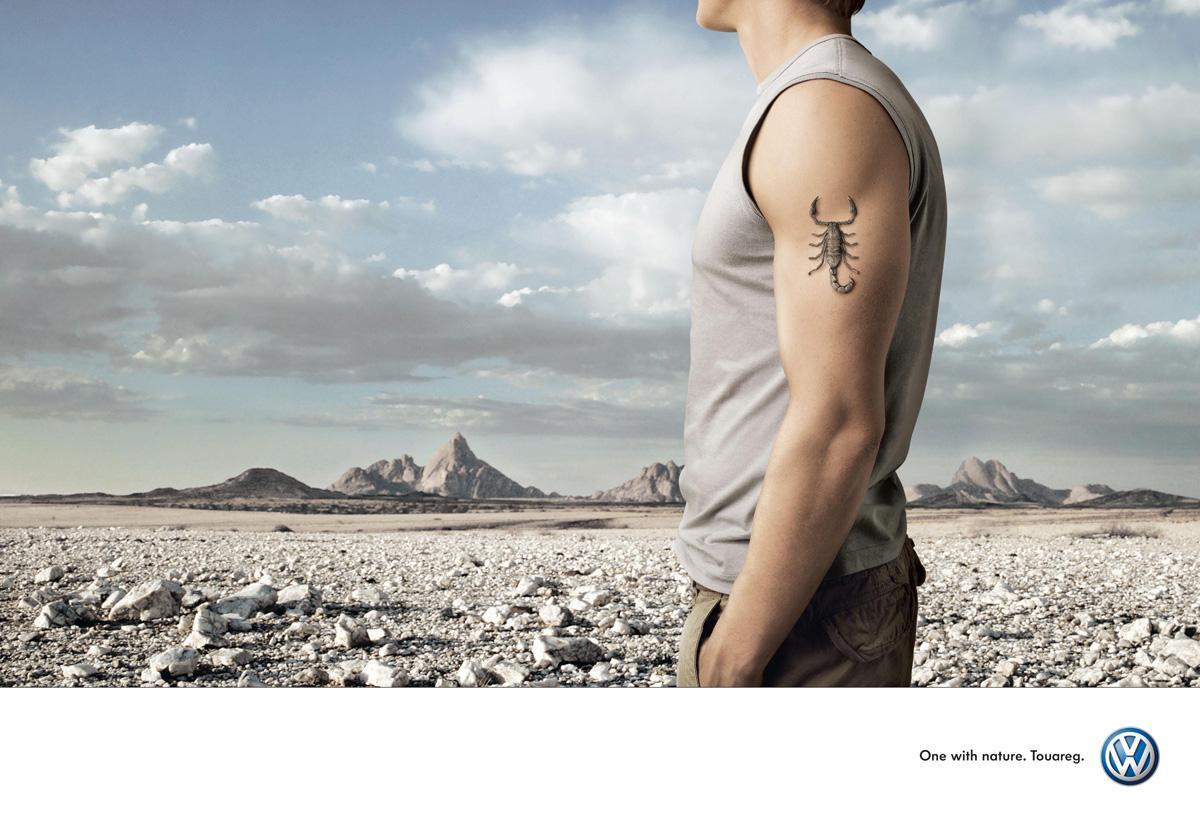 Volkswagen Print Ad -  Scorpion