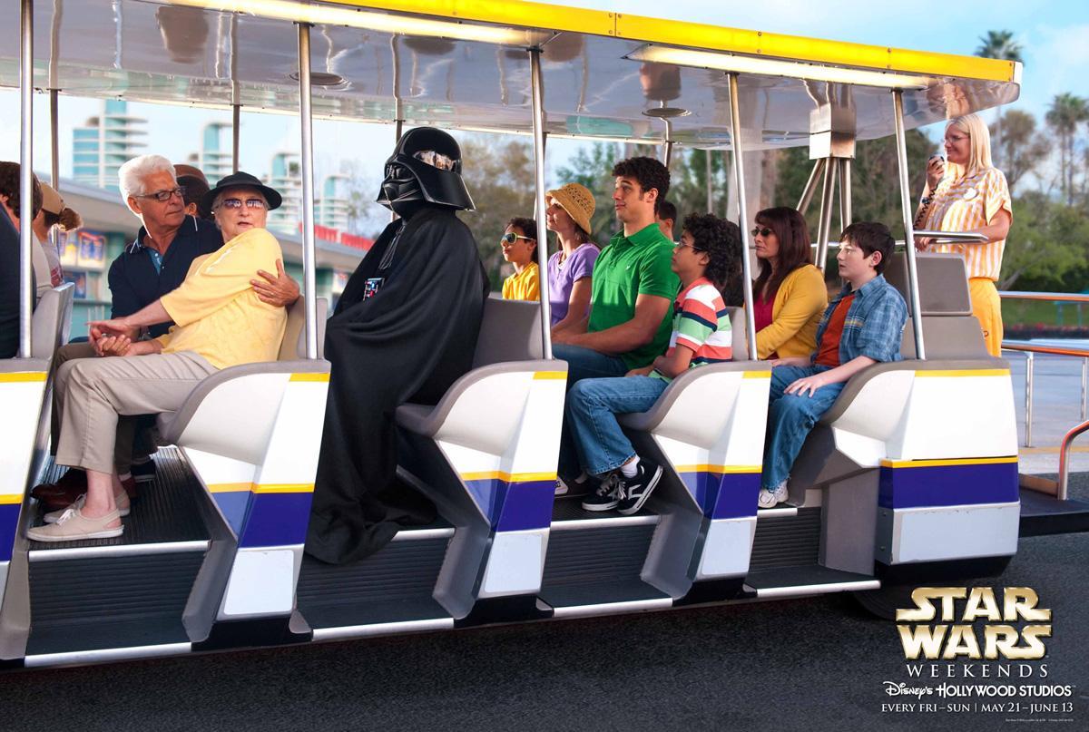 Disney Print Ad -  Vader