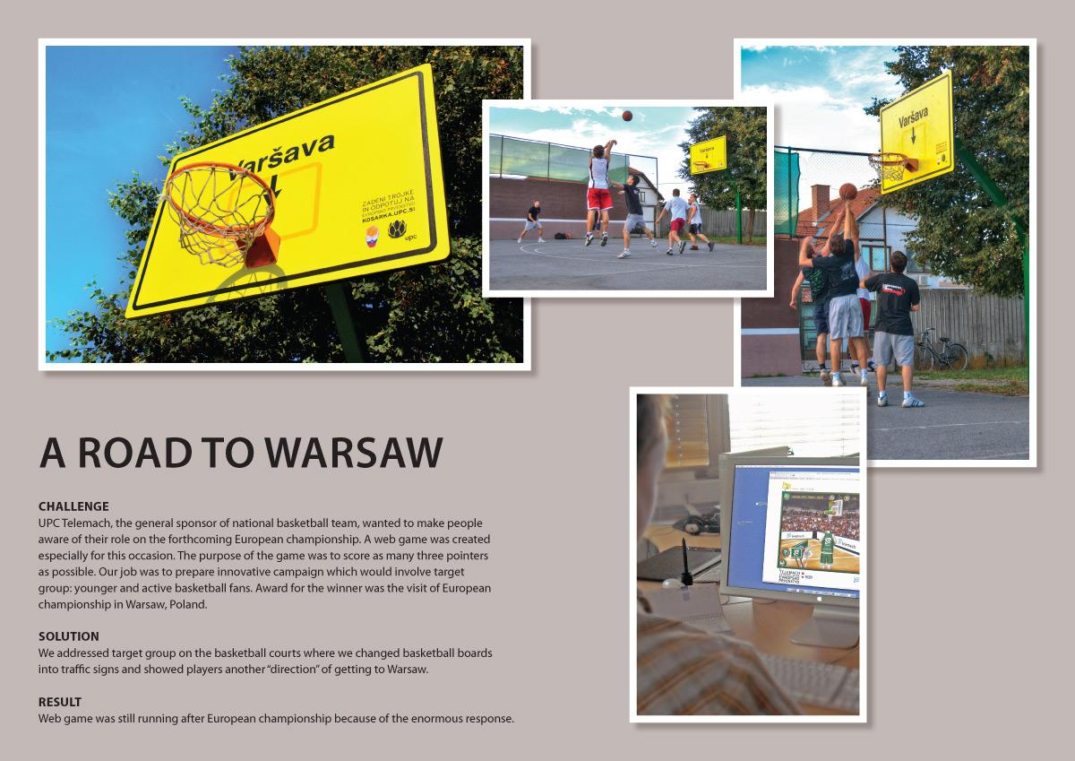 Telemach Ambient Ad -  A road to Warsaw