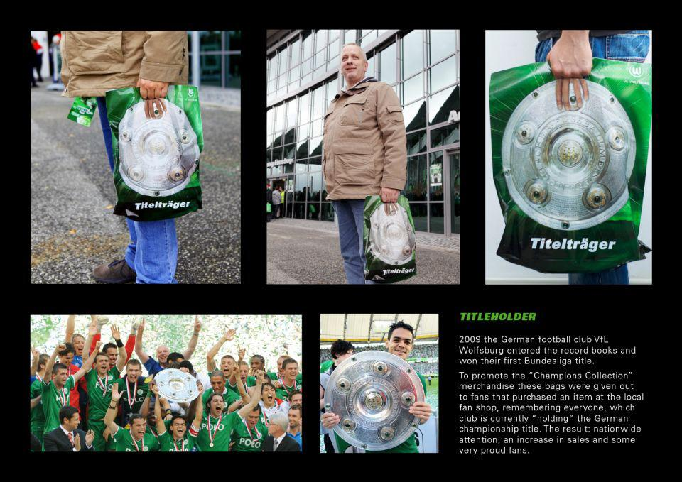 VfL Wolfsburg Direct Ad -  Note