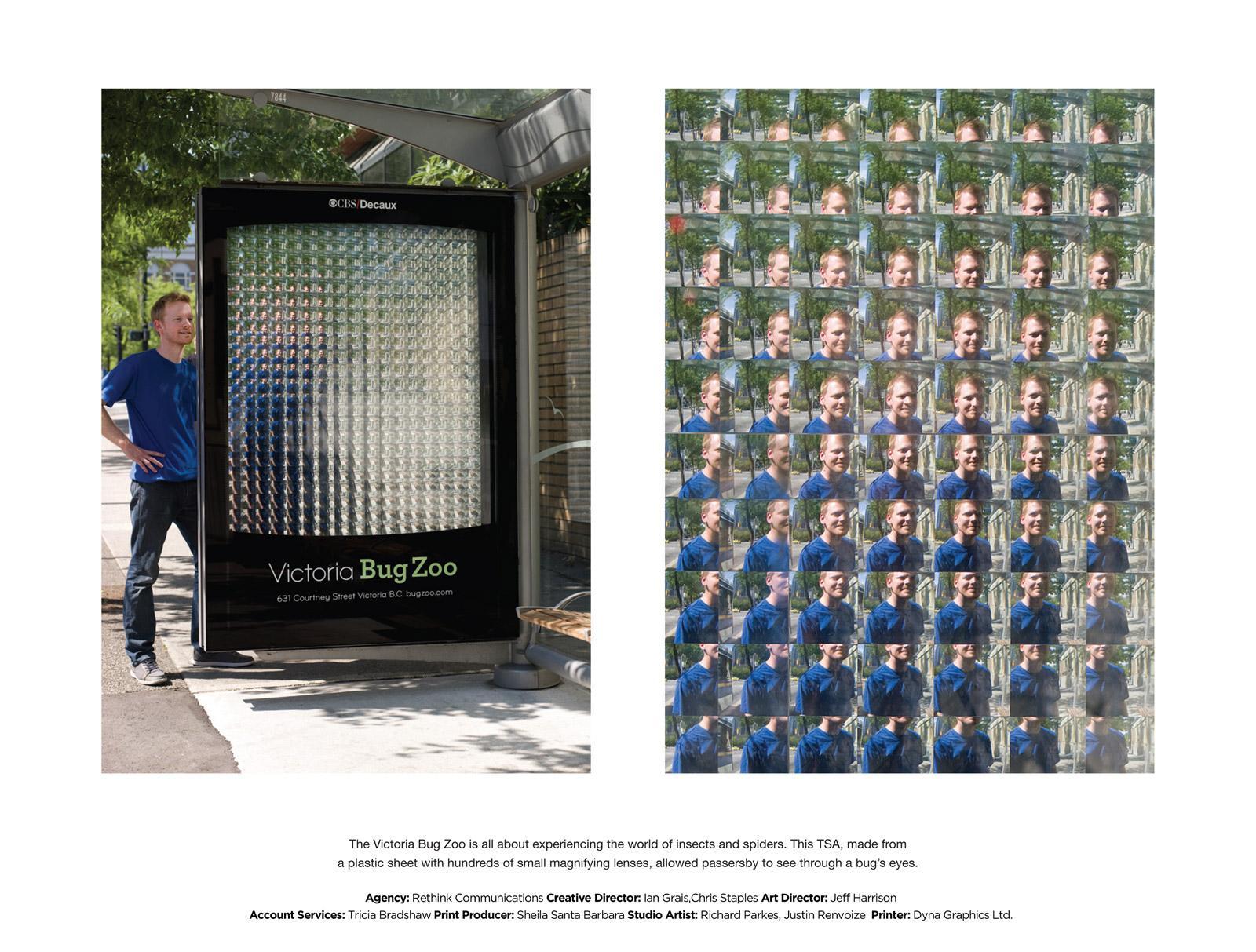 Victoria Bug Zoo Ambient Ad -  Plastic
