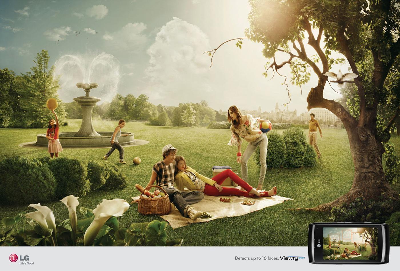 Viewty Print Ad -  Picnic
