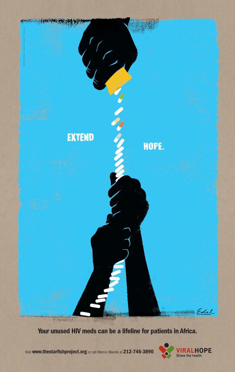 Viral Hope Print Ad -  Rope