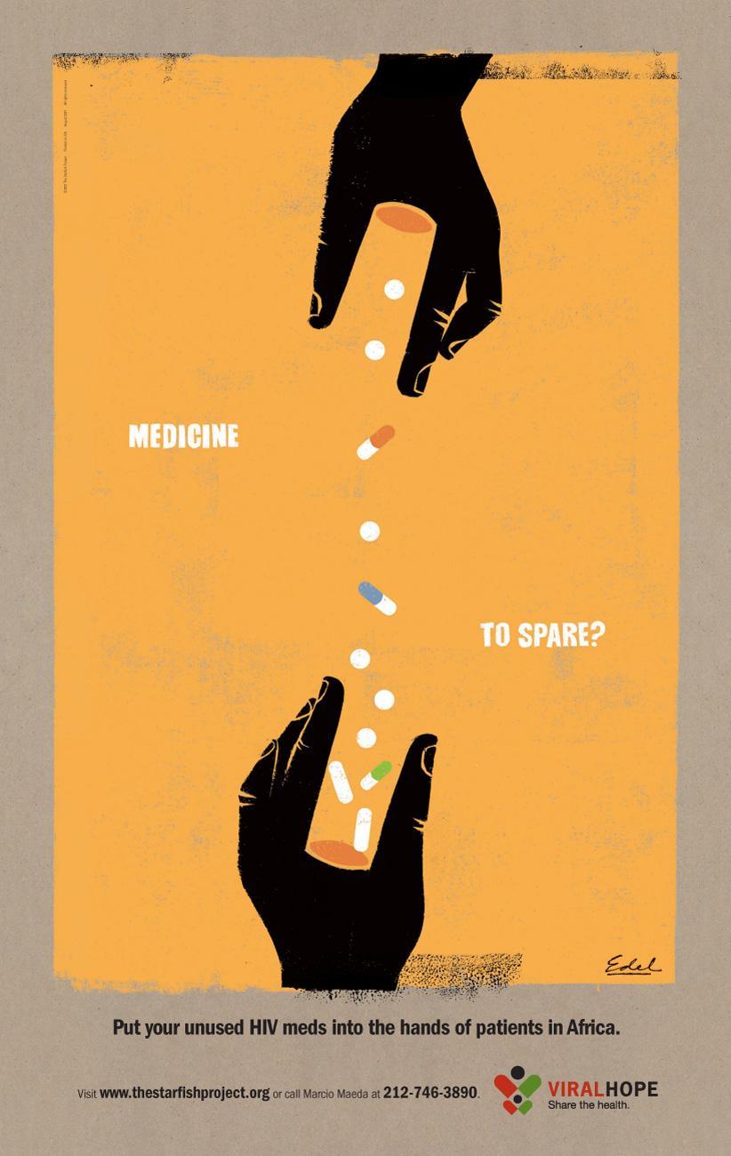 Viral Hope Print Ad -  Vial