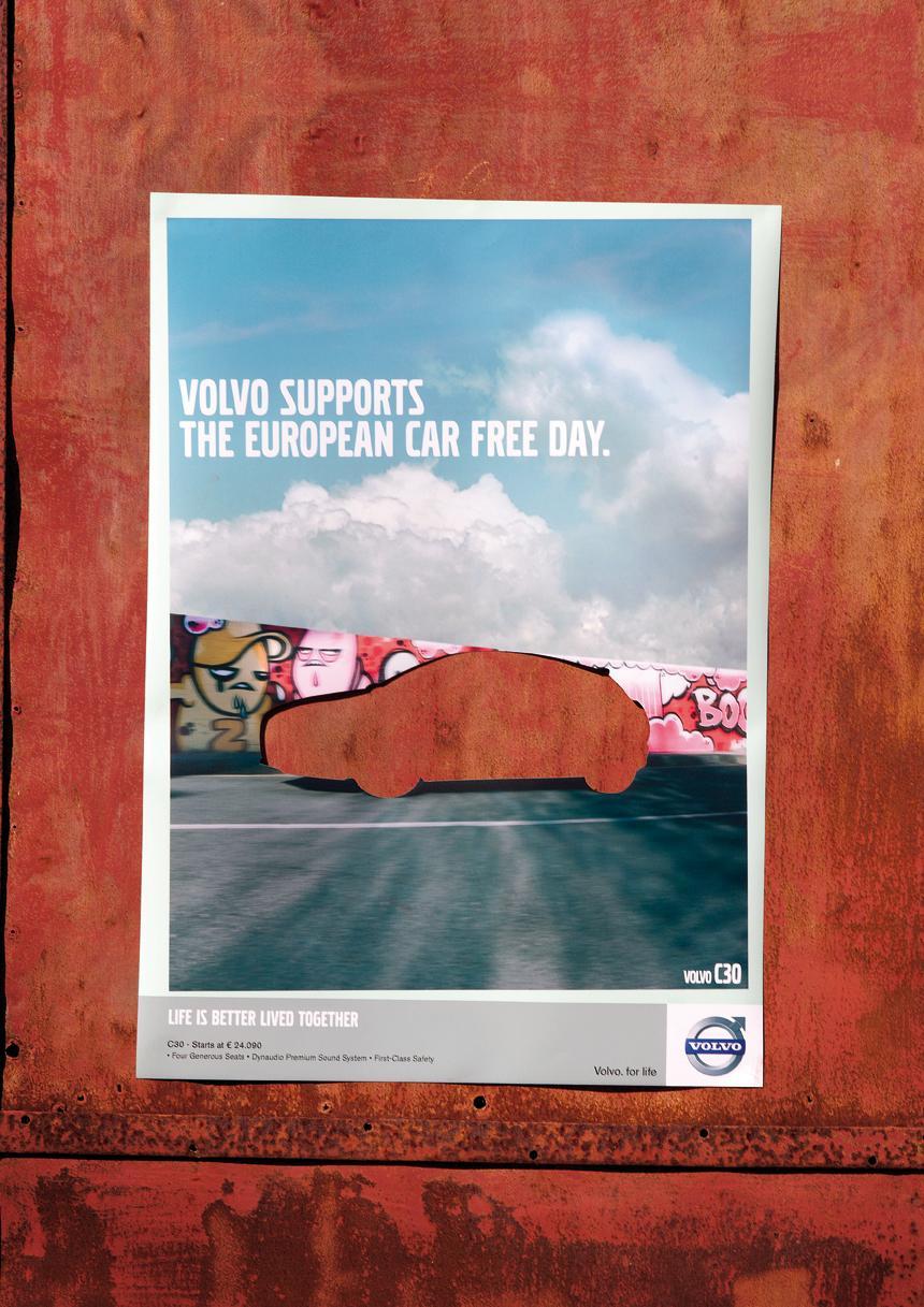 Volvo Outdoor Ad -  C30