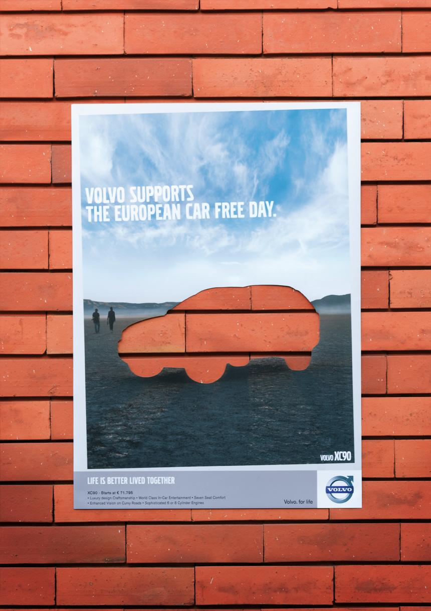 Volvo Outdoor Ad -  XC90
