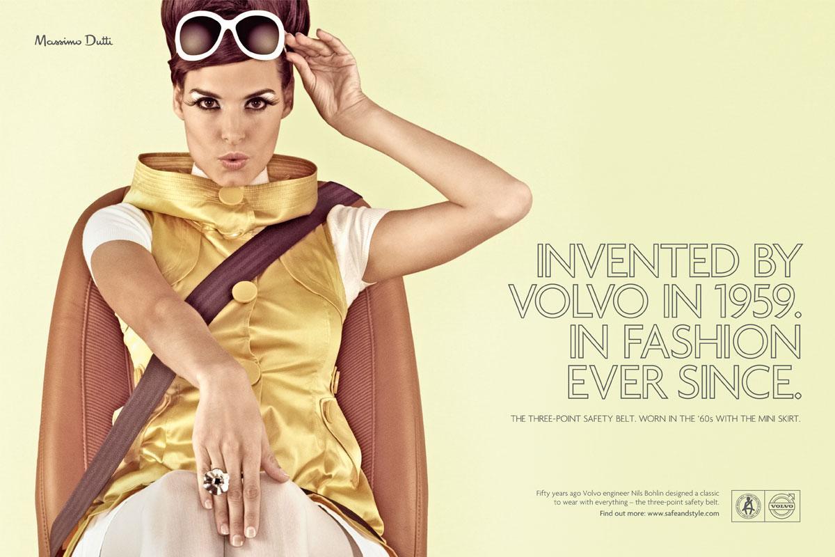 Volvo Print Ad -  1960's